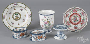 Chinese export porcelain tablewares 18th19th c