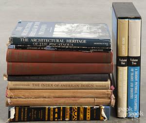 Decorative arts reference books