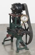 Flint  Walling Mfg Co cast iron belt driven electric motor pump