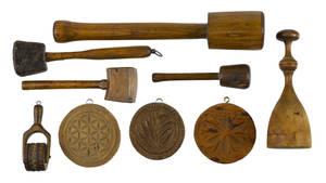 Woodenware 19th c