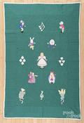 Appliqu Alice in Wonderland quilt