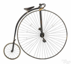 Gormully  Jeffrey penny farthing high wheel bicycle late 19th c