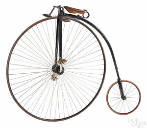 Columbia Volunteer penny farthing high wheel bicycle late 19th c