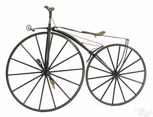 French Michaux boneshaker bicycle late 19th c
