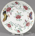 Chinese Qianlong period famille rose fluted dish
