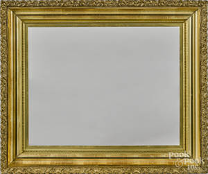 Victorian carved and gilded frame