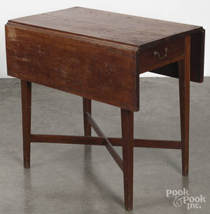 Federal cherry Pembroke table