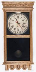Ingraham oak wall clock