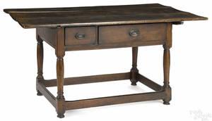 Pennsylvania walnut tavern table ca 1790