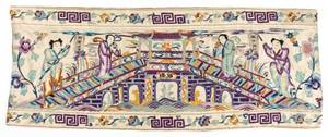 Late Qing Dynasty Silk Embroidered Altar Textile