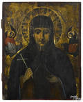 Russian oil on panel icon 18th19th c