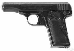 Two semiautomatic pistols