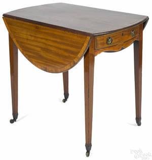 George III mahogany Pembroke table ca 1790