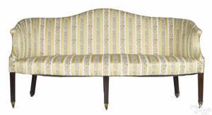 George III mahogany sofa late 18th c