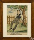 Reading Artist Pennsylvania active 18281845