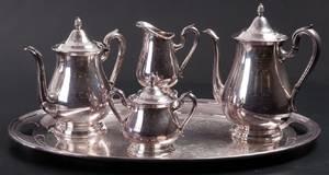 Reed  Barton Silver plate CoffeeTea Service