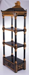 Chinoiserie Wall Hanging Etagere