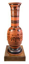 A Monumental Haeger Pottery Vase