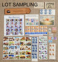 Collection of US and foreign stamps