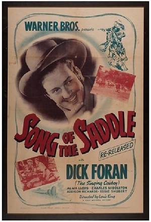 Group of Eight Western Movie Posters