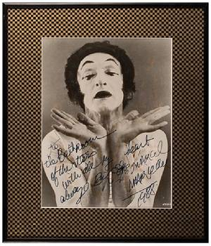 Group of Four Signed Portrait Photographs of Actors and