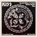 Kiss Rock and Roll Over Promo EP Radio Station Airplay