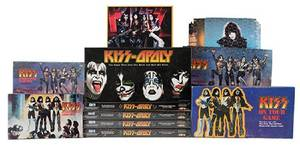 Kiss Group of Eight Board Games and Puzzles