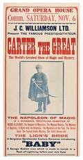 Carter the Great The Napoleon of Magi