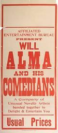 ALMA WILL OSWALD GEORGE WILLIAM BISHOP Will Alma