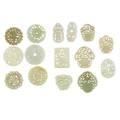 Group of jade pendants
