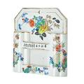 Chinese porcelain letter holder