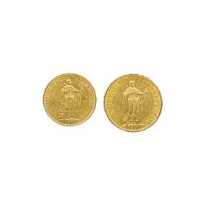 Hungarian gold coins
