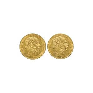 Hungarian 20fr gold coins
