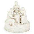 Parian figural grouping