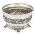 Tiffany  co sterling silver footed bowl