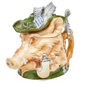 Schierholz porcelain figural stein