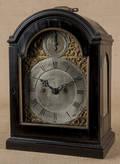 Georgian ebonized bracket clock ca 1800