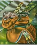 EDOUARD ZELENINE  RUSSIAN 19382002 The Violinist