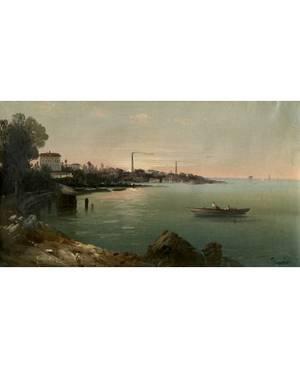 MEKERTICH GIVANIAN TURKISHARMENIAN 18481906 Morning Light on the Shore