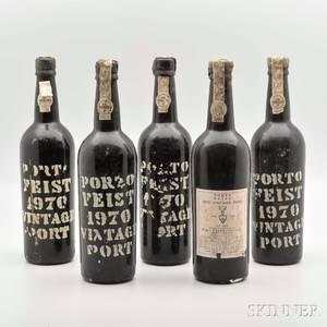 Feist Vintage Port 1970 10 bottles