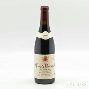 Alain Hudelot Noellat Clos de Vougeot 2005 1 bottle