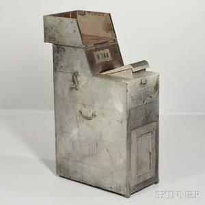 Commonwealth of Massachusetts 19th Century Ballot Box