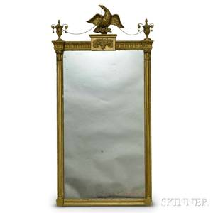 Federal Carved and Gilt Mirror
