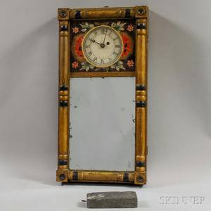 New Hampshire Mirror Clock