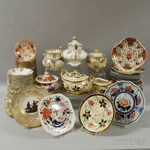 Large Group of Assorted Porcelain Including Imaripalette