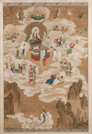 Daoist Buddhist Painting