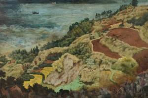 Kunio Makino 19251986 Oil Painting