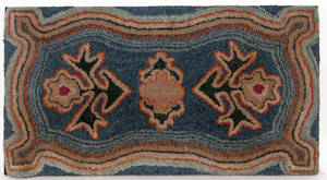 American hooked rug early 20th c