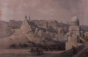 David Roberts Citadel of Cairo Lithograph