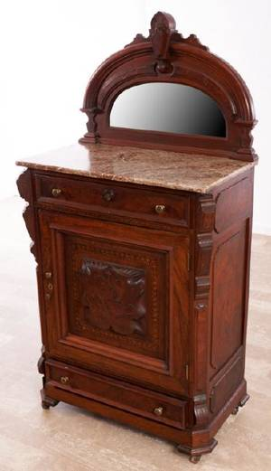 Marble Top Renaissance Revival Server